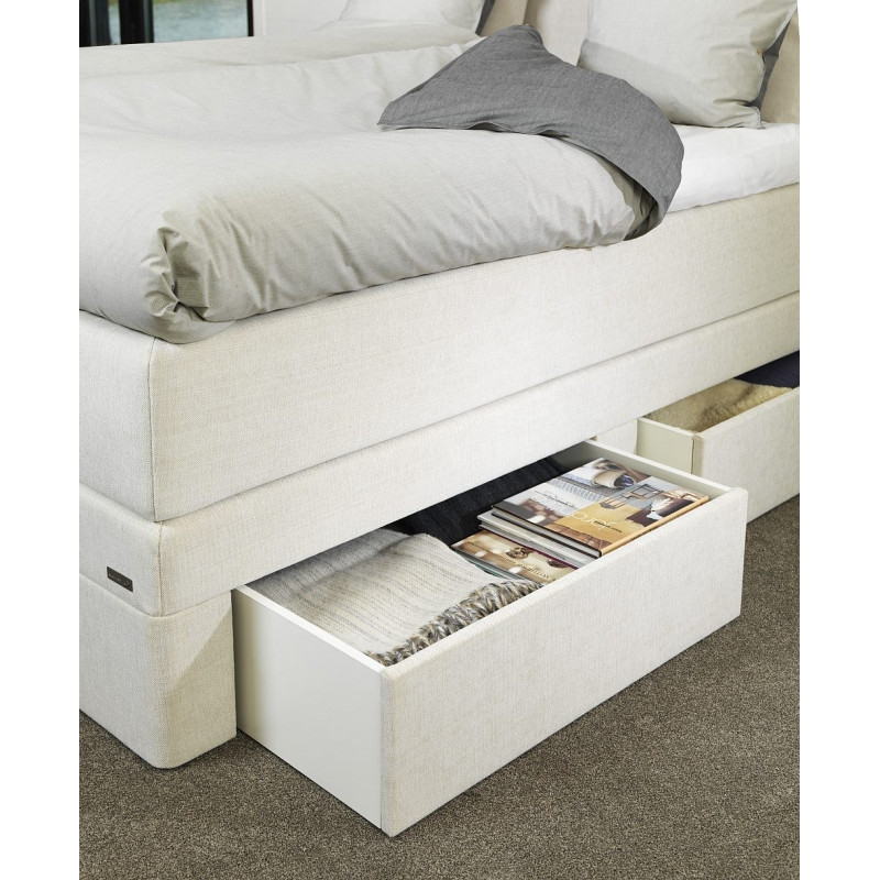 Ko kontynentalne z szufladami hilding select plus 140x200 for Ecksofa 140 x 200