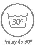 Pokrowiec pralny w temperaturze do 30°C