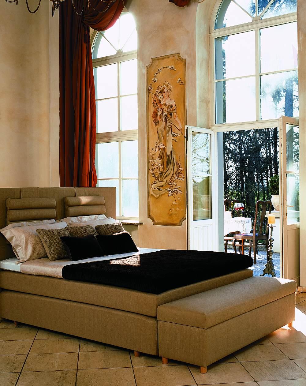 Łóżko kontynentalne Hilding Select I