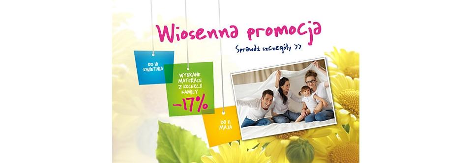 """Wiosenna promocja"" na Materace.Masterking.pl"