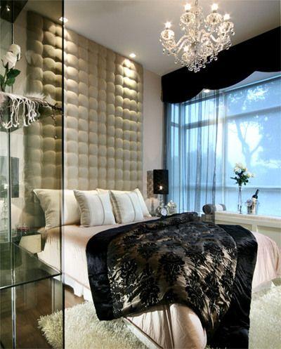 elegancka i stylowa sypialnia