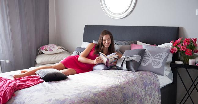 łóżko tapicerowane Ivy