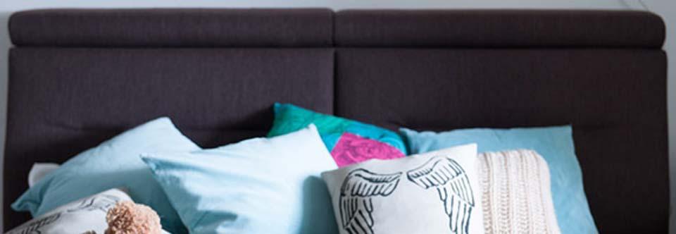 Łóżko tapicerowane Hilding Crocus – łóżko z charakterem