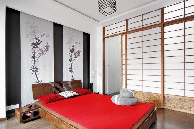 japońska sypialnia