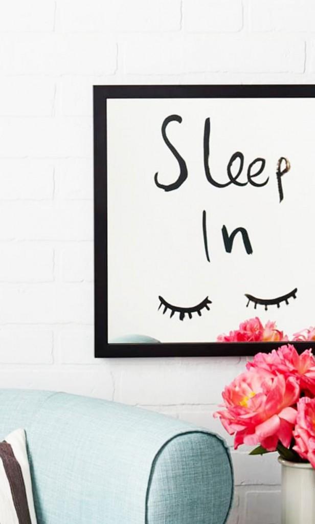 dekoracja do sypialni