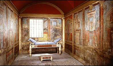 łóżko w starożytnym Rzymie - Historia łóżka, materaca