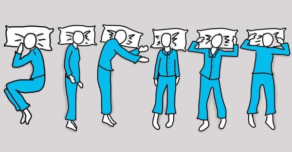 pozycje w których śpimy