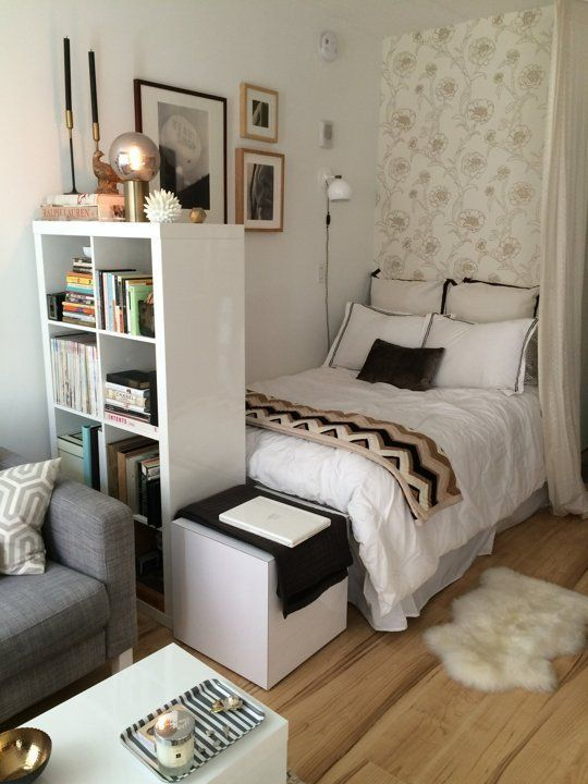 sypialnia w kawalerce abcsypialni pl small rooms decorating ideas decorating for small space