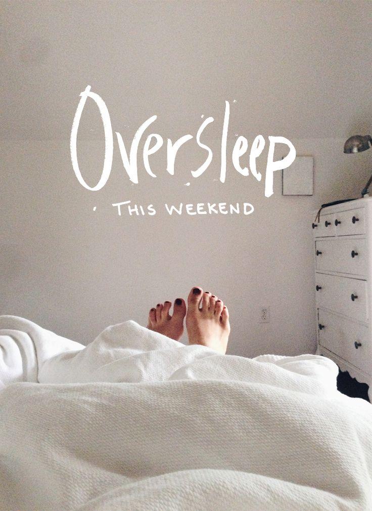 odespać w weekend