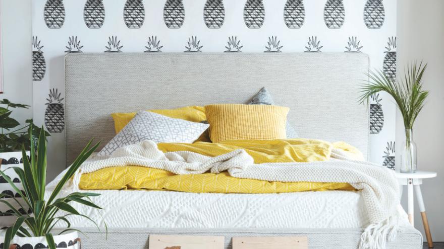 Jak tkaniny zmieniają sypialnię