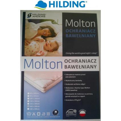 Ochraniacz na materac bawełniany Hilding Molton 160x200