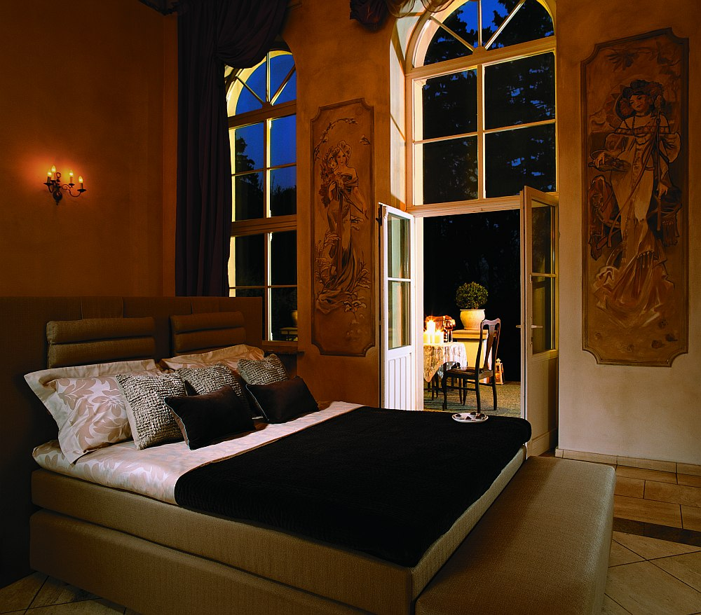 Łóżko kontynentalne Hilding Select II