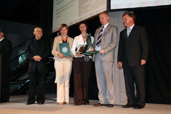Złoty Medal MTP Meble 2006 za Łóżko Kontynentalne
