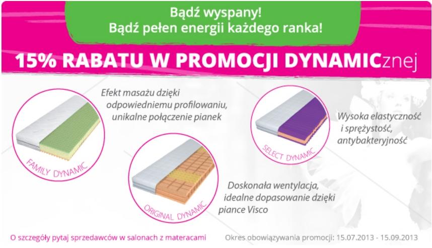 15% Rabatu w Promocji dynamicznej!