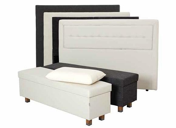 wezgłowia, otomany -  łóżko kontynentalne