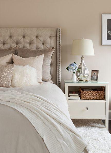 łóżko w stylu romantycznym
