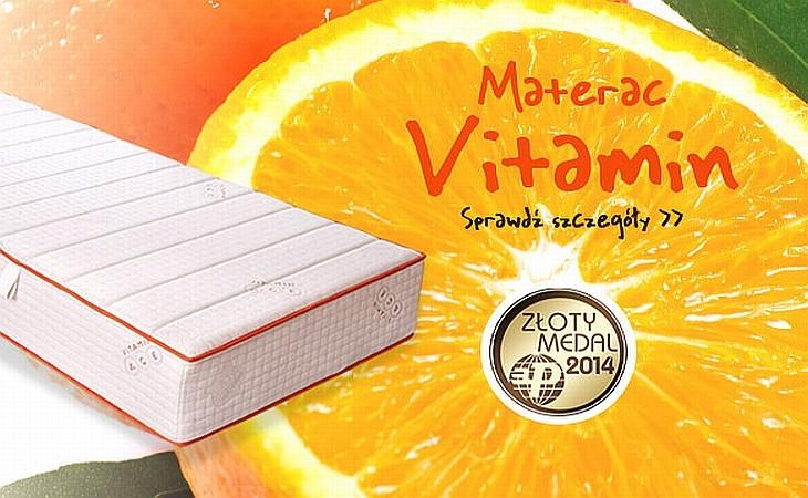 materac piankowy Hilding vitamin - Luksusowe materace piankowe