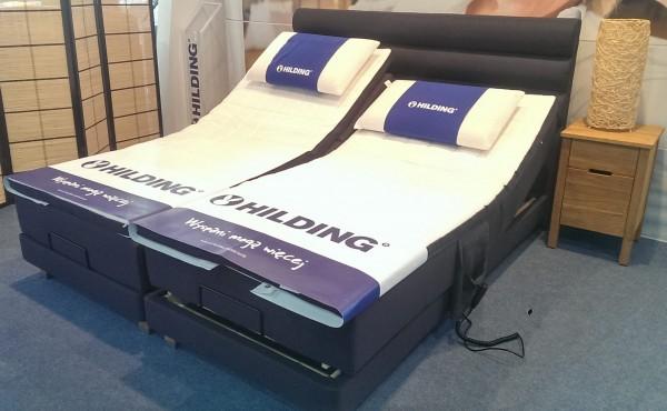 Łóżko kontynentalne Hilding elektrycznie regulowane