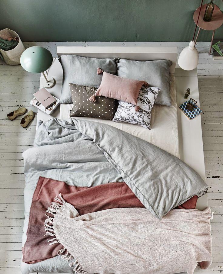 przytulne łóżko