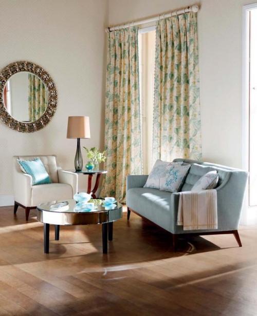 Aranżacja sypialni na wiosnę - jak urządzić sypialnię ? Wiosenne zasłony