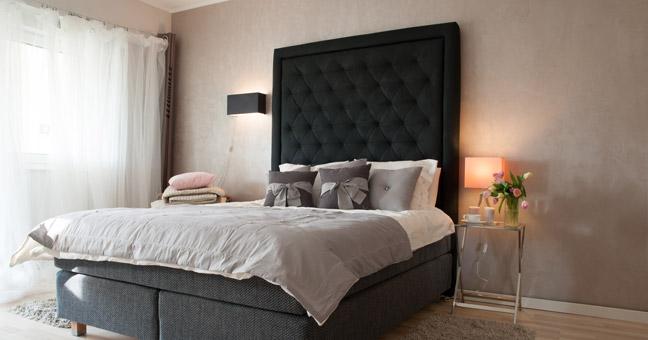 łóżko kontynentalne Hilding Select