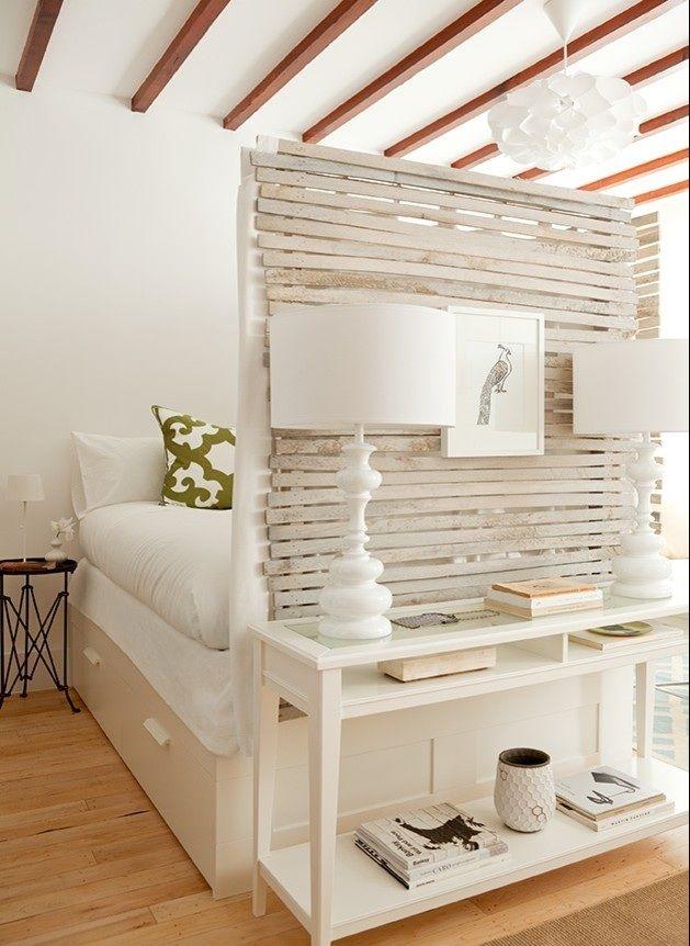 łóżko w kawalerce