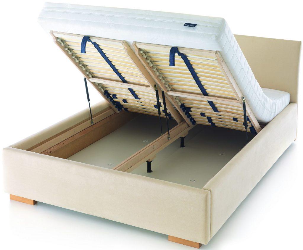 stelaż elastyczny skrzynia pod pościel lift
