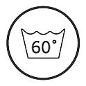 Możliwość prania w 60 stopniach celsjusza